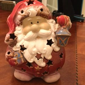 Other - Ceramic Santa Tea Light Holder